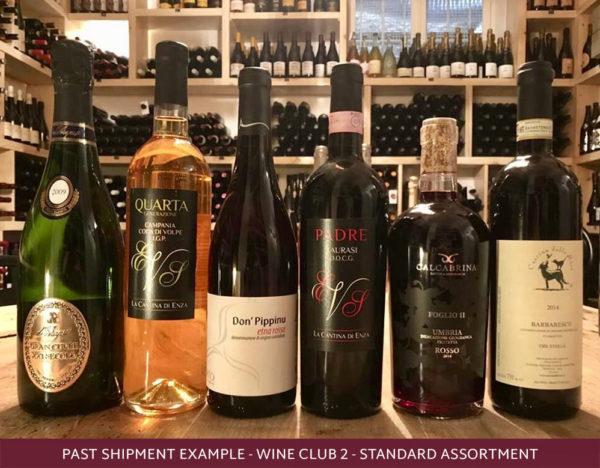 Roscioli wine club selection of italian wines